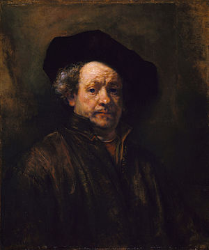300px-Rembrant_Self-Portrait,_1660