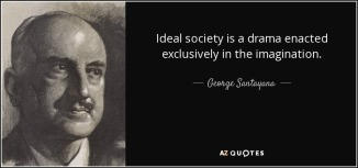 ideal society - utopian
